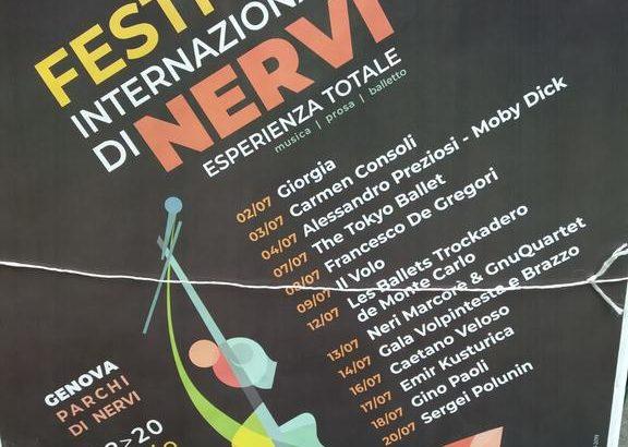 Festival Internazionale di Nervi 2019: biglietti, programma e come arrivare